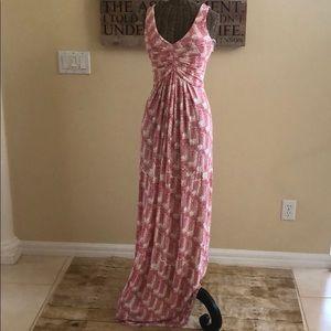 Tart Dresses - Tart Red White Print Maxi Dress S
